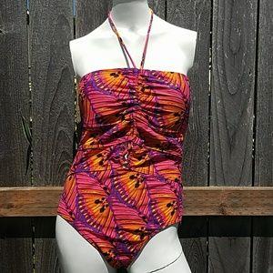 Jantzen Bathing suit Size 14 Multi color